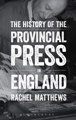 History of the Provincial Press in England Cover